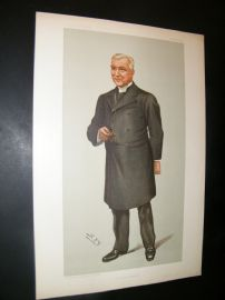 Vanity Fair Print 1899 Cannon Flemming, Clergy